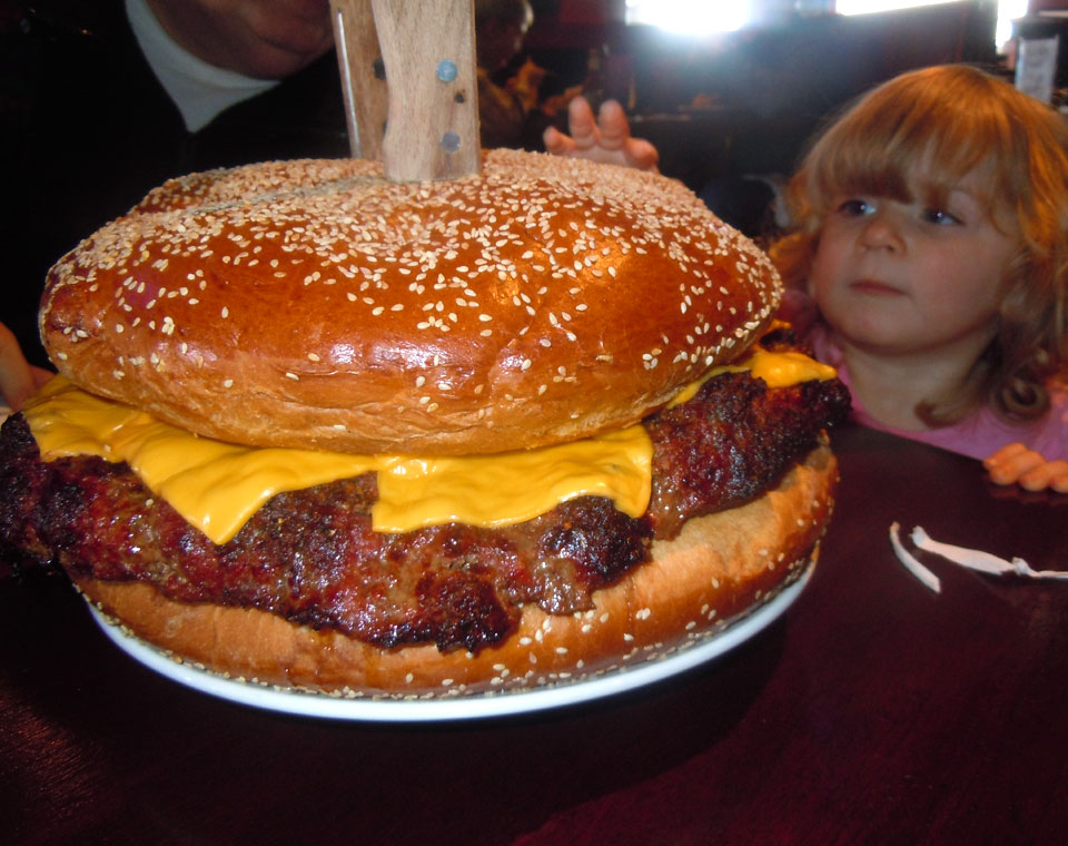 Mallie's 10-lb Monster Burger