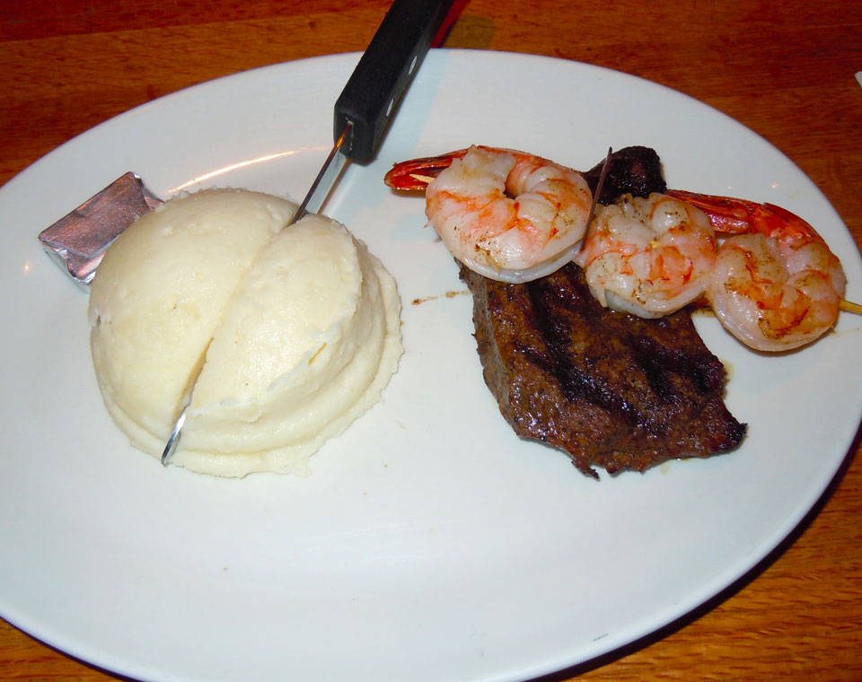 $7.77 Steak & Shrimp