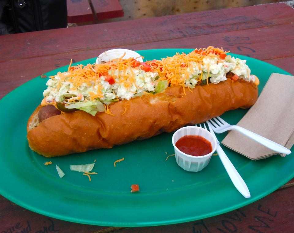 Homewrecker Hot Dog In West Virginia