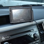 GPS Holder in Use